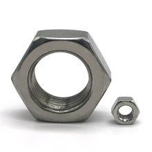 Tuerca hexagonal DIN 934 A2-70 de acero inoxidable