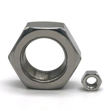 Porca sextavada de aço inoxidável DIN 934 A2-70