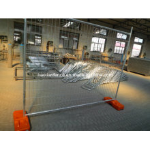 2.1X2.2m Heavy Duty Galvanized Welded Temp Fencing