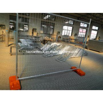 2.1X2.2m Vigilancia soldada galvanizada resistente de la temperatura