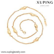 Collier porte-bonheur en or 18 carats avec fabricant de bijoux en laiton 41543