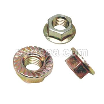ATV flange nut nylon locking nut