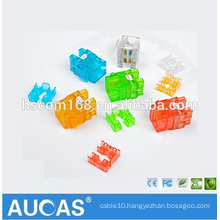 Aucas Brand Network Cable RJ45 Ethernet Wall Jack Cat5e UTP Keystone Jack