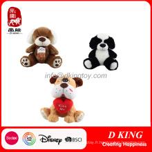 Peluche animaux peluche jouets pour chiens jouets pour enfants