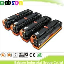 Cartouche de toner couleur Ce320A, Ce321A, Ce322A, Ce323A, 12832, haute qualité pour HP Cm1415fnw / HP Laserjet PRO Cp1525