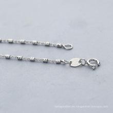 Collar de cadena de la plata esterlina 925 de la joyería superventas superventas
