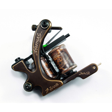 황동 조각 코일 문신 기계