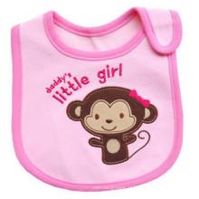 Babete de bebê em malha sem mangas bordado unissex bordado à prova de água personalizada