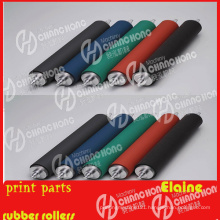 Rubber Roller Use to Printing Machine Parts
