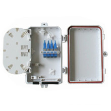 Caja de terminación de fibra óptica de 4 núcleos FTTH