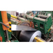 Línea de retroceso de corte de borde de bobina de acero