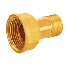 China manufactures J1002 Brass connector for gas meter CW617N brass FxM connector