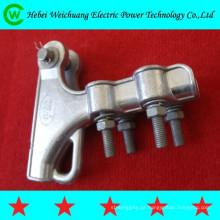 Sobrecarga de alta qualidade de fabricante de Hebei poder linha encaixe grampo de tensão tipo NLL / grampo de tensão