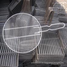 Malla de alambre redonda de la parrilla de la barbacoa