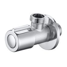 Válvula de agua de cierre de ángulo de ajuste a presión de compresión