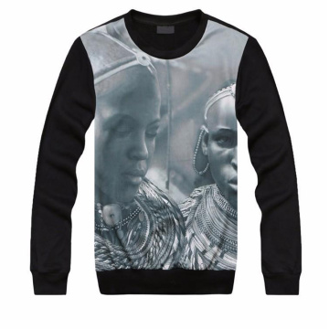 Customized Fashion 3D Digital Printing Sweatshirt