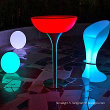 LED décoration télécommande s'allume en événement table rechargeable utilisé bar meubles