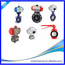 High Quality Stainless Steel Thread Pneumatic Actuator Ball Valve With Air Water Gas Steam