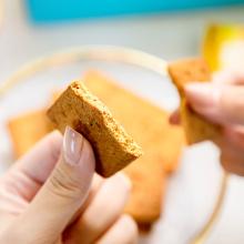 Reich an Ballaststoffkeksen und Keksen