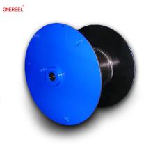 flat steel cable reel drum