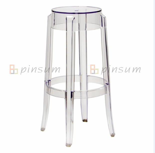 PC Ghost Bar Stool-Large