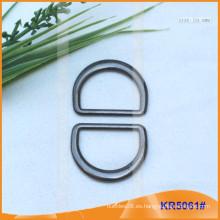 Tamaño interior 24mm Metal Hebillas, Regulador de metal, Metal D-Ring KR5061