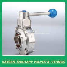 Hygienic Butterfly Valves Weld end 3A/SMS/ISO/DS