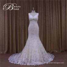 Vstidos De Novia Sexy Pleat Factory Direct Wedding Dress