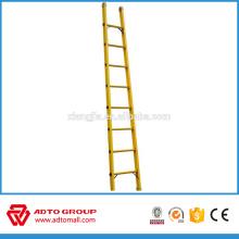Escalera de aluminio de 6 m, escalera de mano ligera, escalera de aluminio