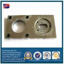 Aluminiumlegierungs-Verbindungsstücke von CNC-Präzisions-Maschinen-Teilen
