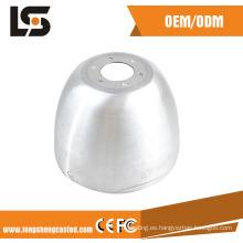 El mejor precio aluminio a presión piezas de fundición LED luz parte de la vivienda