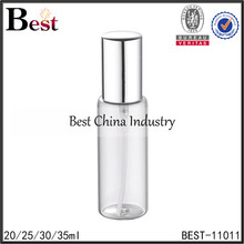 Shanghai Best 20ml 30ml 35ml atomizer perfume spray bottle empty clear perfume spray bottle cosmetic perfume bottle 30ml spray