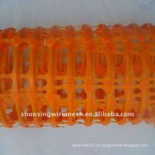 Rede de alerta de segurança em plástico