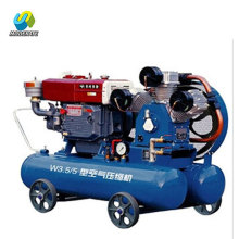 W3.5/5 Belt Driven Diesel Mining Piston Air Compressor