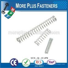 Made in TAIWAN ressort de compression à ressort en acier inoxydable à haute qualité