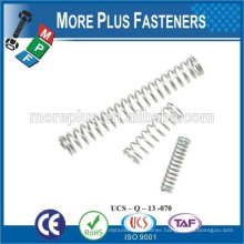 Made IN TAIWAN high qualiy metal spring stainless steel spring compression spring