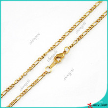 Moda colar de corrente de ouro para flutuante Locket (fn16040838)