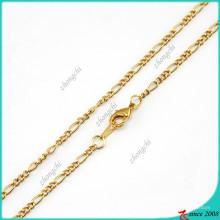 Мода Золотая цепочка ожерелье для плавающей Locket (FN16040838)