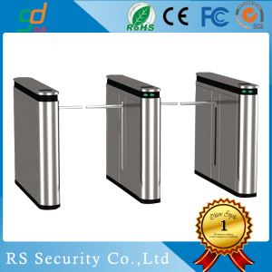 EU Standard 304 Stainless Steel Drop Arm Turnstile