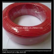 Aislamiento del PVC del cable eléctrico del alambre