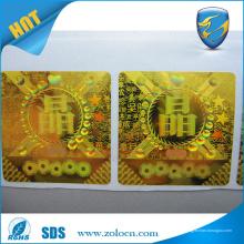 Cosméticos - Design personalizado Impressão Holograma laser anti-falso Etiqueta de etiqueta de segurança