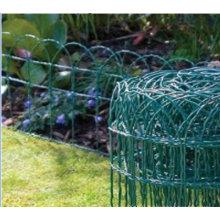 Clôture de bordure de jardin enduit de PVC (TS-J91)