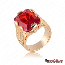 Fashion Red Crystal Diamond Vintage Costume Ring Jewelry (Ri-HQ0222)