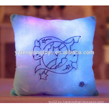 Lovely y lindo LED almohada Zodiac almohada doce zodiaco