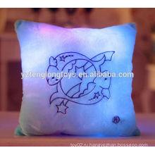 Симпатичные и симпатичные светодиодные подушки Зодиака плюшевые двенадцать подушки Зодиака