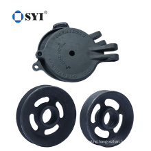 Custom HIgh Precision Casting Iron Lost Wax Investment Belt Pulley