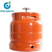6 Kg Empty LPG Gas Cylinder for Nigeria