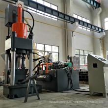 Пресс для брикетирования металлической стружки с высокой производительностью