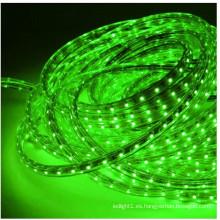 Cinta de luz LED a prueba de agua SMD 3528 de siete colores 120 LED / M