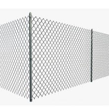9 gauge galvanized PVC Coated Chain Link Fence With 1.8mx10meter
